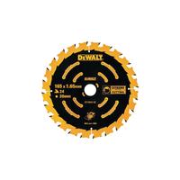 Dewalt DT10624 Circular Saw Blade 165 x 20mm x 24T Cordless Extreme Framing