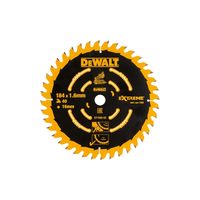 Dewalt Cordless Mitre Saw Blade For DCS365 184 x 16mm x 40T Coarse