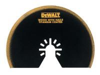 Dewalt Multi-Tool Titanium Semi Circle Blade 100mm