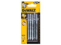 Dewalt Jigsaw Blades for Wood Bi-Metal XPC T111C Pack of 5