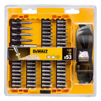 Dewalt DT71540 High Performance Brushless Screwdriving Bit Set 53 Piece | Toolden