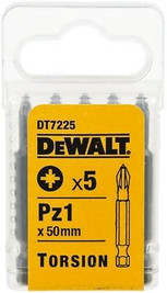 Dewalt DT7225 Torsion Bit PZ1 50mm Pack of 5