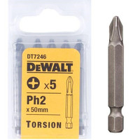 Dewalt DT7246 Torsion Bits PH2 50mm Pack of 5