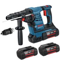 Bosch GBH 36 VF-LI SDS+ Rotary Hammer Inc 3x 4Ah Batt QQC | Toolden