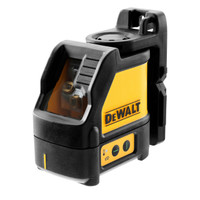 Dewalt DW088CG Green Beam Cross Line Laser with Carry Case  | Toolden