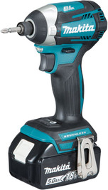 Makita DTD154RTJ 18V 2x5Ah Li-ion Brushless Impact Driver Kit from Toolden