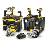 Dewalt DCK550M3T 18v XR 5 Piece Cordless Kit with 3 X 4.0ah from Toolden