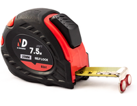 N-Durance 7.5 Metre Easy Read Magnetic Tape Measure