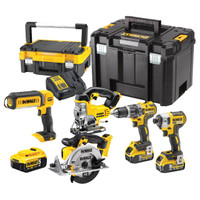 Dewalt DCK551P3T 5 piece kit from Toolden