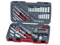Teng TM111 111 Piece Drive Socket Set AF/Metric 1/4 3/8 1/2in Drive
