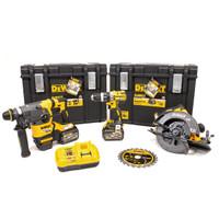 DeWalt DCK357T2 Power Tool Kit 3 Piece 2 x 6.0Ah FlexVolt Batteries