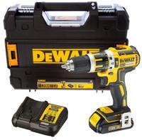 Dewalt DCD795S1 18v Brushless Compact Combi Hammer Drill  | Toolden