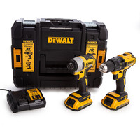 Dewalt DCK2059D2T 18V XR Twinpack from Toolden