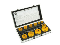 Faithfull Universal Varipitch Holesaw Kit 16 Piece 16-76mm from Toolden