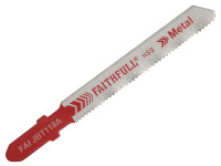 Faithful T118A HSS Metal Cutting Jigsaw Blades Pack of 5 | Toolden