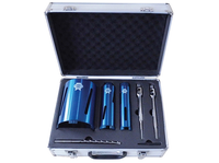 Faithfull FAIDCKIT7 7 Piece Diamond Core Drill Kit With Carry Case