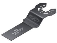 Faithfull FAIMFWM22B Multi-Functional Tool Bi-Metal Flush Cut Wood/Metal Blade 22mm Pack of 5