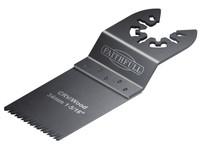Faithfull FAIMFW34B Multi-Functional Tool CRV Flush Cut Wood Blade 34mm Pack of 5