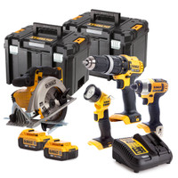 Dewalt DCK449 4 Piece Kit | Toolden