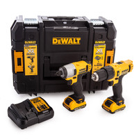 Dewalt DCK218D2T 10.8V XR Cordless Twin Pack | Toolden