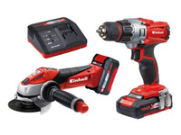 Einhell TE-TK 18v Drill & Grinder Twin Pack