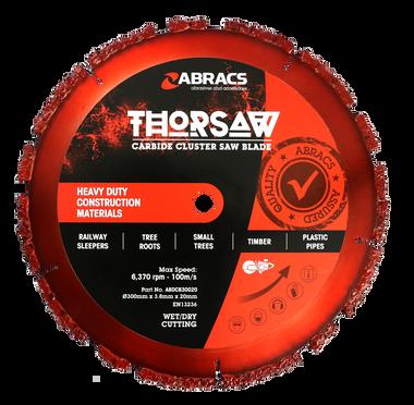 Abracs ABDCB30020 Thorsaw Carbide Cluster Saw Blade 300mm