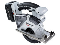 Panasonic EY45A2LJ2G 18v Universal Circular Saw Dual Volt with 2 x 5.0Ah Batteries