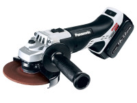 Panasonic EY46A2LJ2G 18v 125mm Angle Grinder Dual Volt with 2 x 5.0Ah Batteries