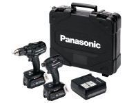 Panasonic EYC217LJ2G 18v Twin Combi & Impact Driver Pack with 2 x 5.0Ah Batteries