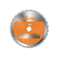 Evolution HTC255MULTI Rage® Multi-Purpose Circular Saw Blade 255 x 25.4mm x 28T