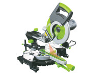 Evolution Fury3-S 210mm Multi Purpose Sliding Mitre Saw 240v