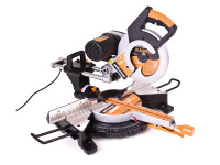 Evolution RAGE3-DB 255mm Multi-Purpose Double Bevel Mitre Saw 2000 Watt 110 Volt
