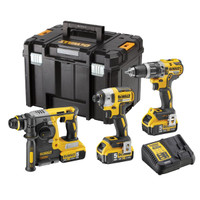 Dewalt DCK368P3T 18v Brushless Triple Pack