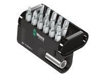 Wera Bit-Check 12 Metal Bit Set of 12 PZ PH TX Hex