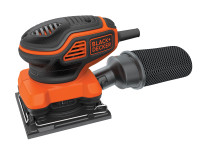 Black & Decker KA450 1/4 Sheet Paddle Switch Orbital Sander 220W 240V