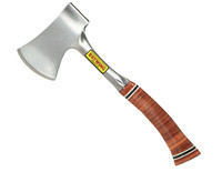 Estwing E24A Sportsmans Axe Leather Grip - 3.1/4in Edge