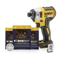 Elite Pozi Woodscrew Trade Pack 7000 Screws with Free DCF887N