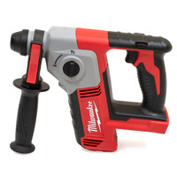 Milwaukee M18 BH-0 SDS 2 Mode Hammer 18V Body Only