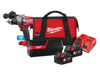 Milwaukee M18 ONEPP2I-502B FUEL ONE-KEY Twin Pack 18V 2 x 5.0Ah Li-ion| Toolden