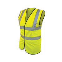 Scan Hi-Vis Waistcoat Yellow - L (44in)
