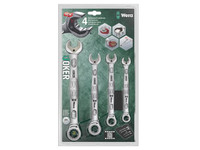 Wera Joker Combi Ratchet Spanner Set 4 Piece Imperial