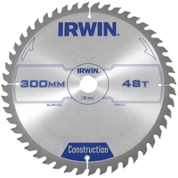 IRWIN General Purpose Table & Mitre Saw Blade 300 x 30mm x 48T ATB