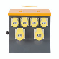Defender 6-Way Power Splitter Unit 110V