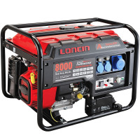 Loncin LC8000D-AS Open Frame Generator 6Kw