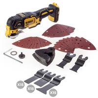 N-Durance Multi Tool Blade Trade Pack 45 Blades with FREE Dewalt DCS355N