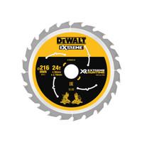 DeWalt DEWDT99568QZ FlexVolt XR Circular Saw Blade 216 x 30mm x 24T (DEWDT99568QZ)| Toolden