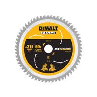 DeWalt DEWDT99570QZ FlexVolt XR Circular Saw Blade 216 x 30mm x 60T (DEWDT99570QZ)| Toolden