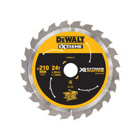 DeWalt DEWDT99565QZ FlexVolt XR Table Saw Blade 210 x 30mm x 24T (DEWDT99565QZ)| Toolden