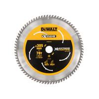 DeWalt DEWDT99576QZ FlexVolt XR Mitre Saw Blade 305 x 30mm x 78T (DEWDT99576QZ)| Toolden