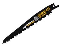 DeWalt DEWDT99554QZ FlexVolt XR Wood With Nails Reciprocating Blades 152mm 4/6 TPI Pack of 5